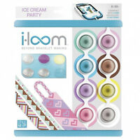 NEW Style Me Up i.loom i-loom Spool Refill Ice Cream Party Theme Pack Craft Kit