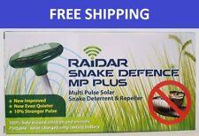 Snake Defence Repeller Raidar Quality Solar Powered MultiPulse Ultrasonic Single