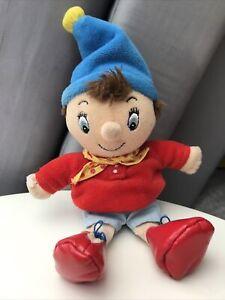 Noddy plush Soft toy Enid Blyton's TOYLAND Rattle In Hat Beanie 24cm