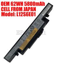 New OEM Battery for Lenovo IdeaPad Y400 Y410N Y490N Y500P Y510PA Y590P L12S6E01