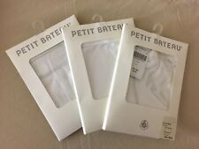 New 3-Pack Petit Bateau Baby Cotton Jersey Brief And Diaper Cover 24M