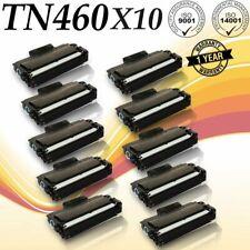 10 PK TN460 High Yield for brother HL-1030 HL-1230 HL-1240 HL-1250 HL-1270n
