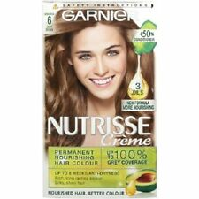 Garnier Nutrisse Cream Permanent Hair Colour - 6 Light Brown Sandalwood