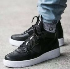 Mens Nike Air Force 1 Ultraforce Mid 864014-001 Black/Black Size 13