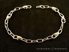DODO by Pomellato bracciale Moschettone in argento 925 Ref. DB5MSCA21. NUOVO!