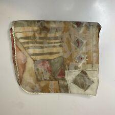 croscill throw pillow sham colors tan pink geo print pocket closure polyester
