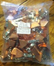 Clip on Copper Pole Fishing Bite Alarm Bells - Lot Of 50 Craft Christmas Holiday