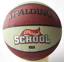 Rare 2007 Spalding Nba Official School Outdoor Basketball Game Ball Size 3 New !
