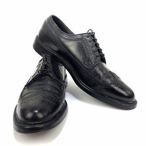 Executive Imperial By Mason Men's Wingtip Black Leather Dress Shoes Sz 12