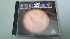 "BARENBOIM ""BRUCKNER 2ND SYMPHONY"" CD 4 TRACKS BERLINER PHILARMONIKER 3984-214852"