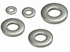 "18-8 Ss Thick Steel Round Washer, No. 10 Screw, .625"" Od x .075"" Thick, 50 Pcs*"