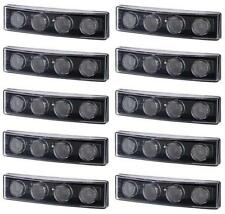 10 x LED Front Sunvisor Marker White Lights for Scania P R G series C8 OEM fit