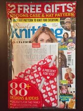 Simply Knitting Free Case Hat Pattern Designs Gifts #141 2016 FREE SHIPPING JB