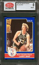 1984 STAR CO. AWARDS BANQUET #8 LARRY BIRD (MOST VALUABLE PLAYER) SCD 8 NM/MT