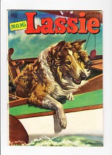 Lassie  9    Lassie Rides on a Boat on Cover
