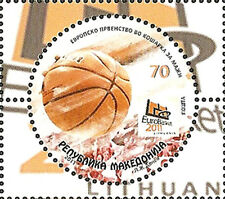MACEDONIA 2011,European Championship in Basketball,Lithuania,MNH