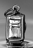 LOOK Travel Suitcase Luggage case bag real Sterling silver 925 charm Jewelry vac