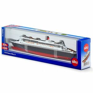 1:1400 Queen Mary 2 Diecast Siku Model Ships Alloy Kid Collect Gift Toys 1723