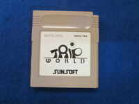 NINTENDO GAMEBOY GB TRIP WORLD tripworld from JP SUNSOFT RARE Game Soft