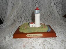 Collectible Lighthouse~North Head Washington~Wood Base~6.5 X 3.5 Inches