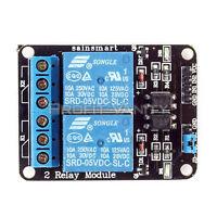 5V 2 Channel Relay Module for Arduino Due Mega2560 UNO R3 Nano Leonardo R3 Robot