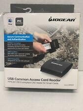IOGear GSR202 USB Smart Card Access Reader in Black