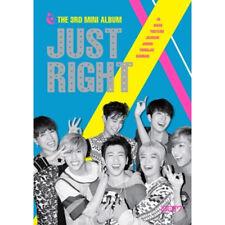 GOT7 [JUST RIGHT] 3rd Mini Album CD+84p Photobook+2p Photocard K-POP SEALED