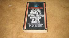 NATIONAL ADVISORY COMMISSION RIOT REPORT Forward By  Tom Wicker Bantam Book 1968