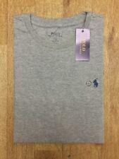 Ralph Lauren Men's Short Sleeve Crew Neck T-shirt Custom Fit L Light Grey