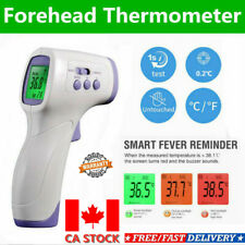 IR Infrared Digital Forehead Fever LCD Thermometer Non-Contact Baby Adult Body M