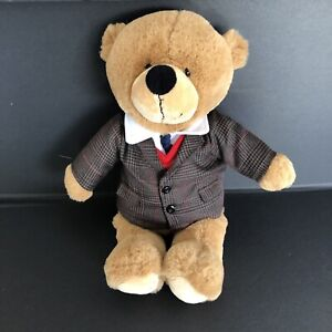 "Myer Teddy Bear ""Anthony"" 2018 Wearing Suit 42cm"