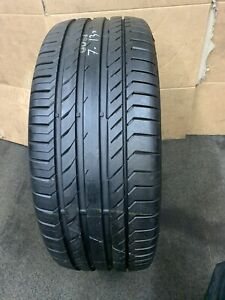 255 55 18 105W MO SUV Continental ContiSportContact 5 1x Tyre Tread(7+mm