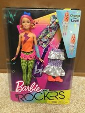 2017 Barbie And The Rockers Change Look Doll & Fashions Giftset Playset Rare