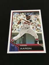 HANK AARON RETRO COOPERSTOWN TOPPS LINEAGE 2011 BRAVES BASEBALL CARD