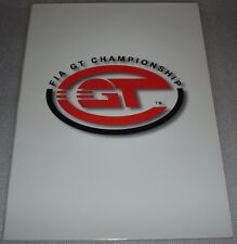 Le Mans FIA GT 2000 Grand Touring Championship Silverstone 500 Miles Press kit