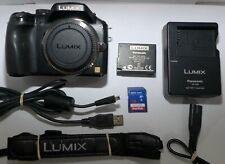 Panasonic LUMIX DMC-G5 16.0MP Digital Camera Black (Body Only) 64 GB Memory card