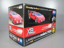 Rare Brand New Tamiya #57780 1/10 RC Lamborghini Countach XB TT-01E Expert Built