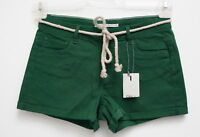 NEU Sexy Hot Pants, Shorts kurze Hose mit Kordelgürtel in grün Gr.34,36,38,40,42