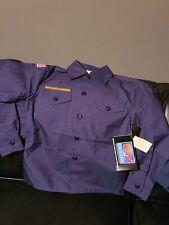 Boy Scout navy blue Cub Scout shirt XL BSA official New uniform Webelos