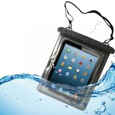 WATERPROOF CASE TRANSPARENT FLOATING COVER UNDERWATER POUCH w TOUCH For TABLETS