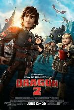 HOW TO TRAIN YOUR DRAGON 2 - Movie Poster - Flyer - 13 X 19 - FINAL VERSION