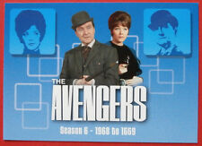 THE AVENGERS - Card #53 - Season 6 Header - SERIES TWO - Strictly Ink 2005
