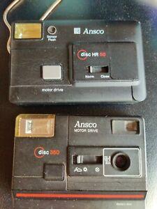 Ansco Disc 350 Camera & Ansco Disc HR 50 Camera
