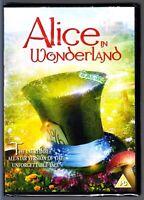 ALICE IN WONDERLAND (1985) T.V Miniseries DVD SAMMY DAVIS JR REGION 2 New/Sealed