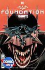 BATMAN FORTNITE FOUNDATION (2021) 1ST PRINTING CAPULLO MAIN COVER + GAME CODE