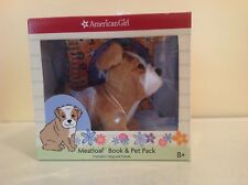 American Girl Doll pet MEATLOAF Book & Pet Pack NIB