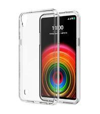 Funda de gel TPU carcasa silicona para LG Optimus X Power Transparente