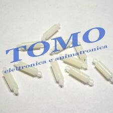 10 Distanziale distanziatori plastico PCB circuiti stampati 12mm c.FIXMADA12