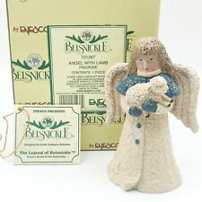 "4.5"" Belsnickle Angeles w/Lamb by Linda Lindquist Baldwin New Retired #721387"