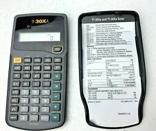 Texas Instruments TI-30Xa Scientific Calculator Tested and Working